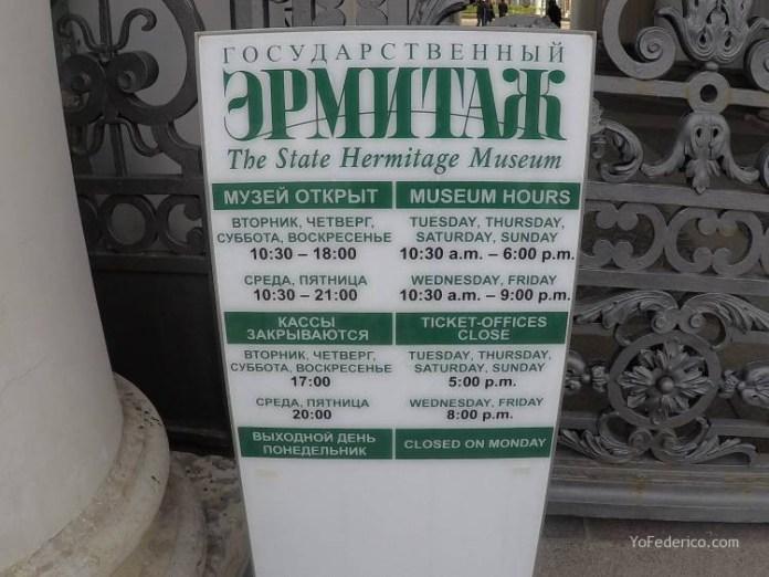 El Museo Hermitage de San Petersburgo 4