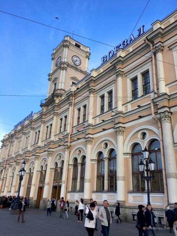 Comprando pasajes de tren en San Petersburgo para ir a Moscú 10