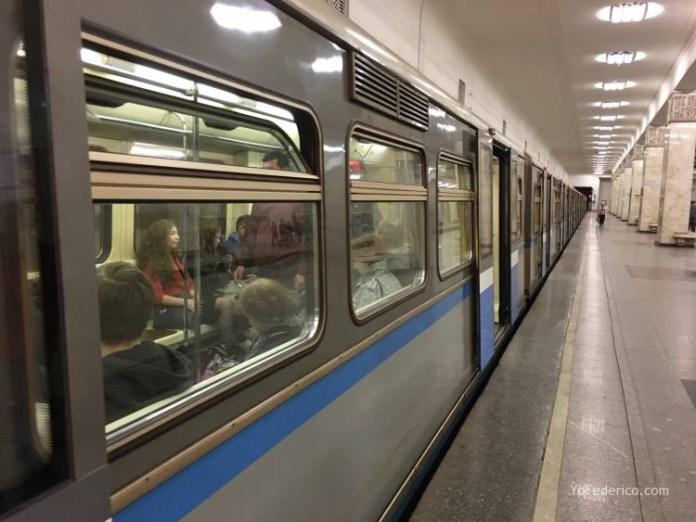 Metro desde la estación de Moscú al centro 17