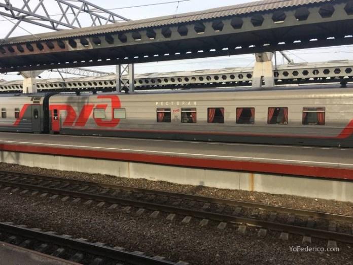 Viaje en tren bala desde San Petersburgo a Moscú 2