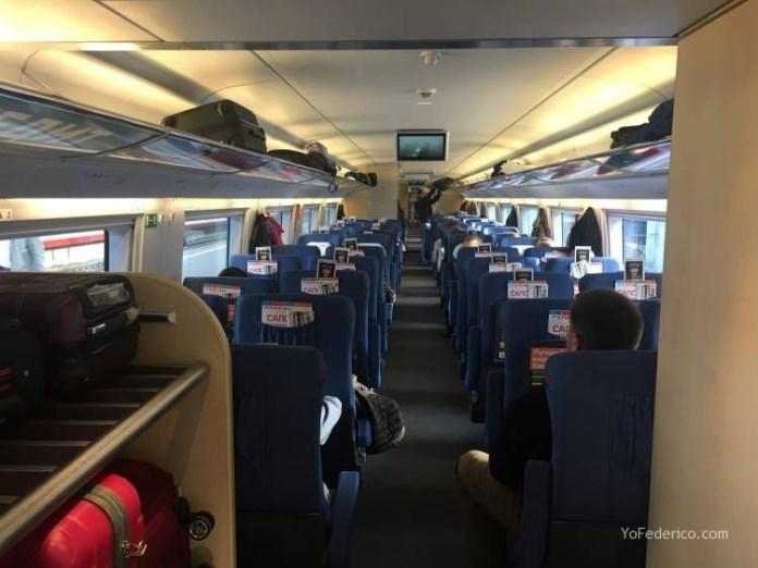 Viaje en tren bala desde San Petersburgo a Moscú 5