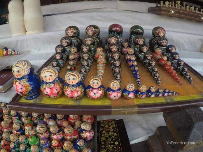 Todas las mamushkas del mercado Izmailovo de Moscú 10
