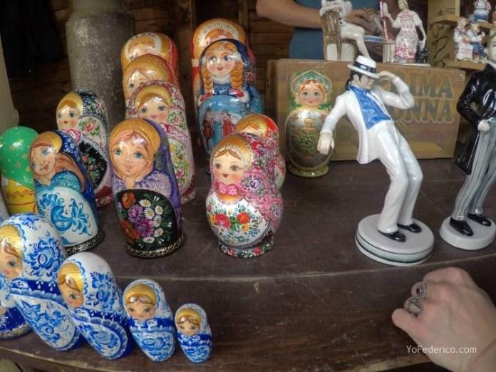 Todas las mamushkas del mercado Izmailovo de Moscú 13