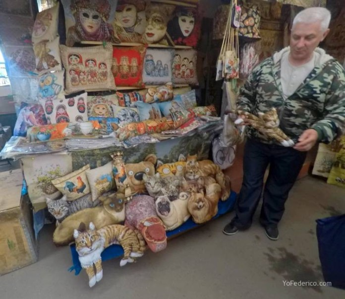 Todas las mamushkas del mercado Izmailovo de Moscú 26