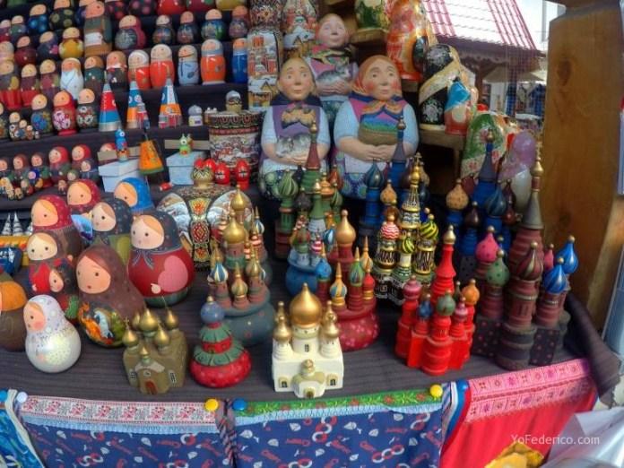 Todas las mamushkas del mercado Izmailovo de Moscú 27