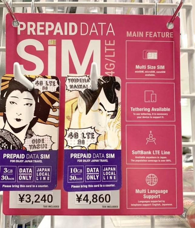 El mejor SIM de datos para comprar en Japón 2