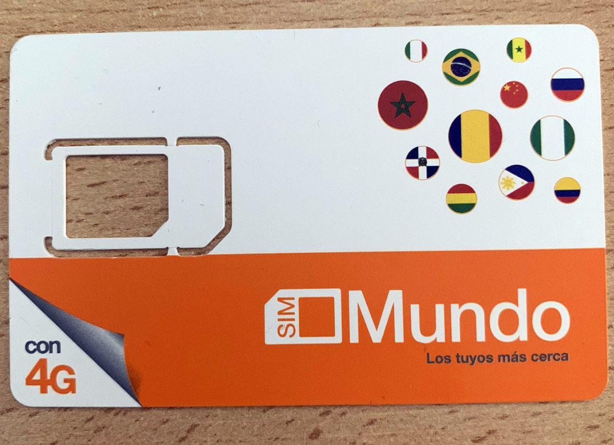 Mi primer SIM en España