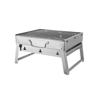 Blue Ocean Stainless Steel Portable BBQ Griller Big(440x305x75mm)
