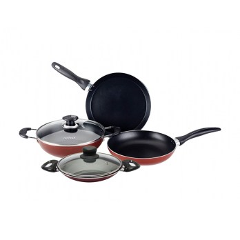 Nolta Induction Base Cookware Popular Rocky Nonstick 6 pcs Set