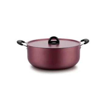 Impex Non Stick Induction Base Biriyani Pot 17 Litre- ISP 3815