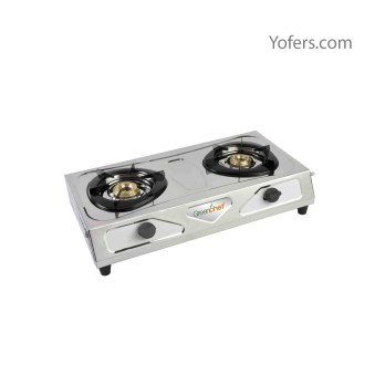 Greenchef Chandini Automatic Stainless Steel Gas Stove
