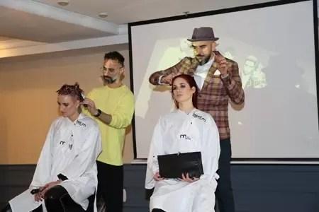2167 - מעצבי שיער מובילים בישראל בכנס LPD של Label.m