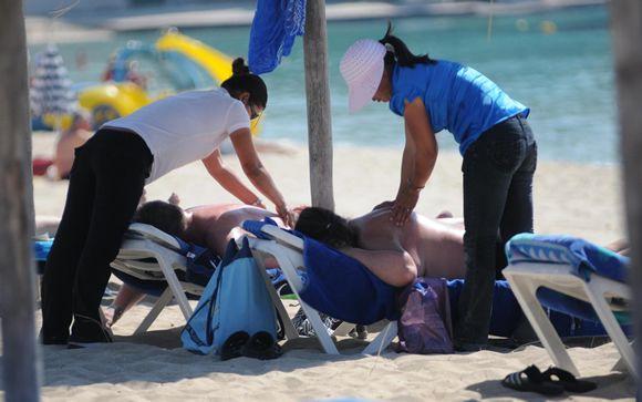 Peligros de los masajes en la playa