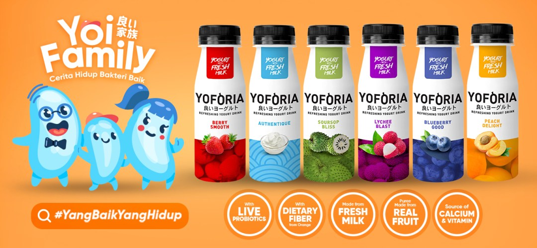 Banner Product - Yoforia drink