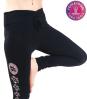 Yoga-legging 'Asana' katoen zwart S