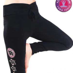 Yoga-legging 'Asana' katoen zwart M