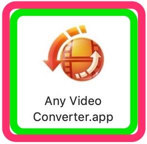 Macのための動画変換無料フリーソフトAny Video Converter for Mac ダウンロード・インストール💜はじめての簡単MacデビューのMacの使い方💖