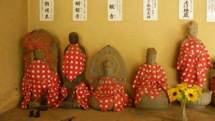 お地蔵さんを抱っこ出来る鷲尾愛宕神社へ参拝💖お地蔵さん篇💚