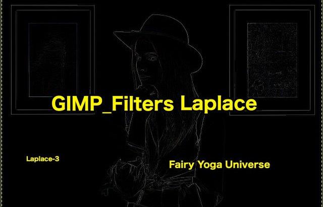 💖GIMP for Mac💘GIMP_フィルター効果(Filters)💚輪郭抽出(Edge-Detect)_ラプラス【Laplace】💙WordPressなど画像編集におすすめ