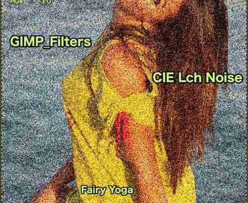 GIMP💙WordPress画像編集に使えるGIMPフィルター(Filters)_ノイズ(Noise)_CIE LCh ノイズ【CIE Lch Noise】続続篇Lightness💘GIMP_Filters効果💖GIMP for Mac