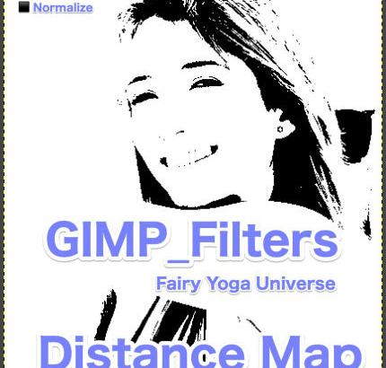 💖GIMP for Mac💘GIMP_フィルター効果(Filters)💚汎用(Generic)_距離マップ【Distance Map】続**6篇⬛ Normalize【正規化】
