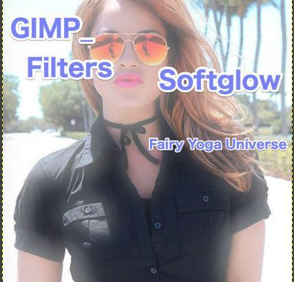 💖GIMP for Mac💘GIMP_フィルター効果(Filters)💚芸術的効果(Artistic)_柔らかい発光【Softglow】続続篇Glow radius【発光半径】①💙