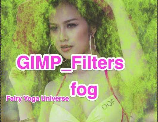 💖GIMP for Mac💘GIMP_フィルター効果(Filters)💚装飾(Decor)_霧【fog】続**3篇_Turbulence[乱気流]1💙
