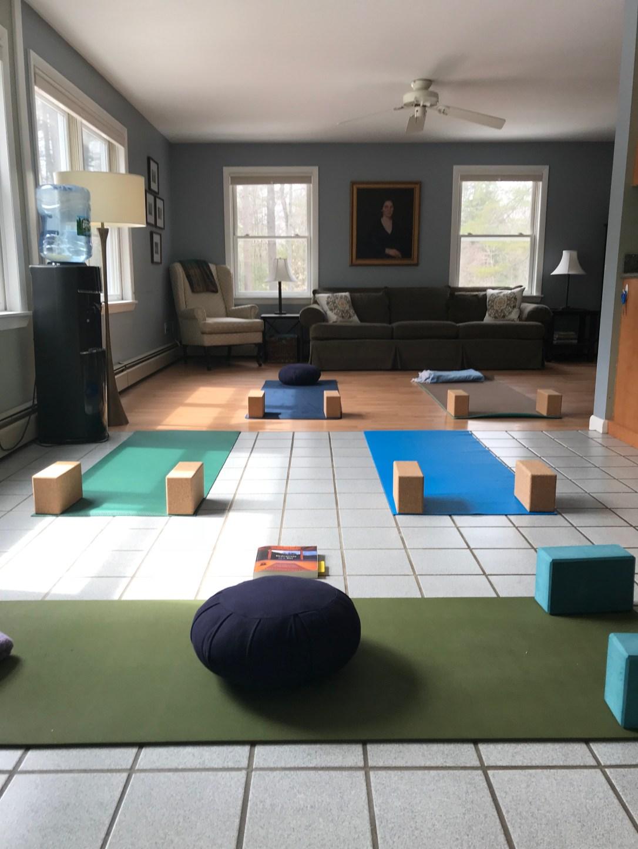 Yoga Next Door Began in Jessica's Living Room