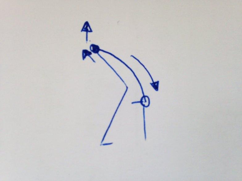 Aus dem Stand die Knie sehr deutlich anwinkeln und danach mit langem Rücken langsam nach vorne beugen. Den Oberkörper nach unten aushängen lassen, um den Rücken zu dehnen. Dabei auch Schultern und Nacken entspannen.