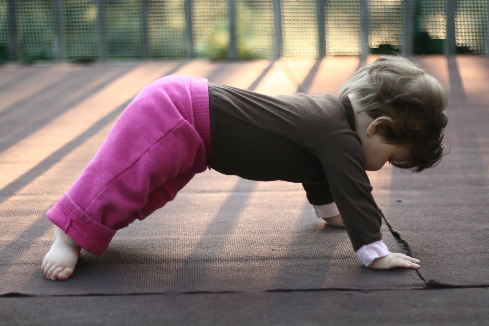 Beneficios yoga niños
