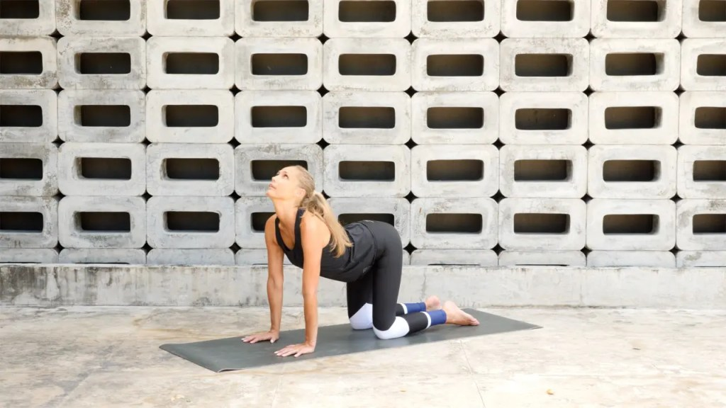 30-minute yoga sequence to relieve lower back pain.
