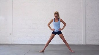 Yoga For Travel standing, strength and flexibility sequence.