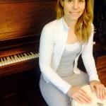 Kara Wetzel with drum