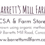 Barretts Mill Farm