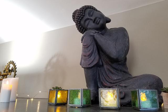 Buddha in The Loft