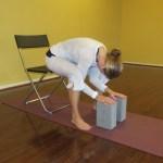 chair yoga fold