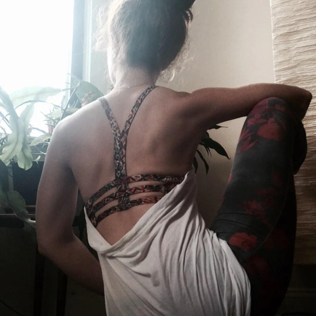 yoga pulling