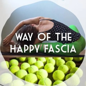 tennis ball self-myofascial release yoga