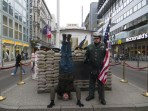 Checkpoint Charlie Headstand, Berlin, Germany