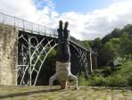 Iron Bridge Headstand, Iron Bridge Gorge, UK