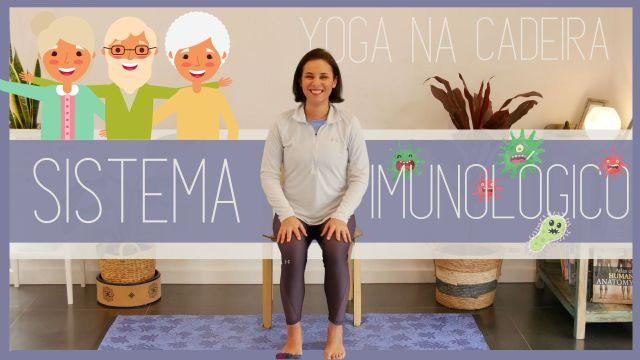Yoga na cadeira