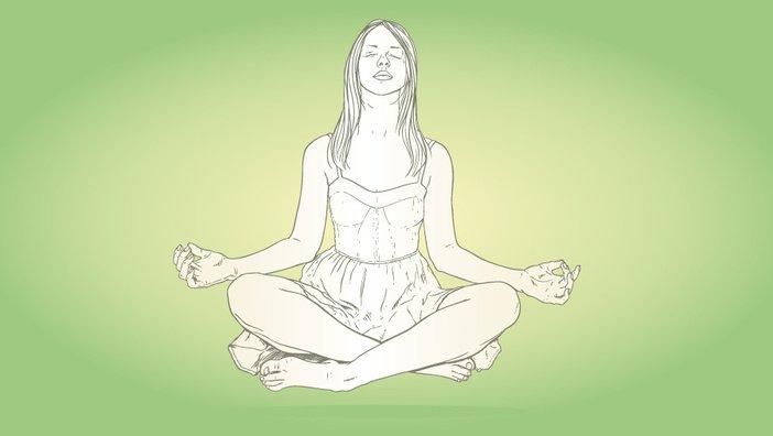 Йога - укрепление мышц тазового дна.
