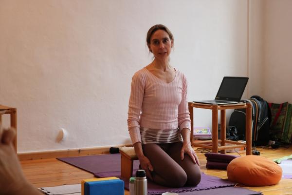 Infoabend Yoga Ausbildung bei Yoga & Cure - Dr. med. Wiebke Mohme
