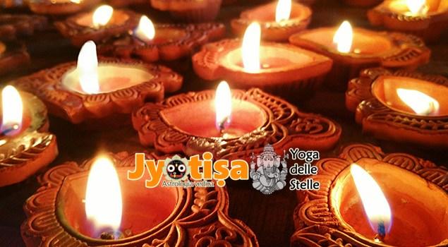 Il significato di Dīvalī e del mese di Kārttika secondo l'Astrologia Vedica