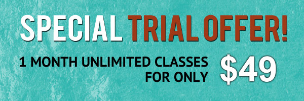 Special yoga trial offer
