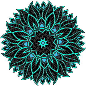 Yoga Flourish Mandala