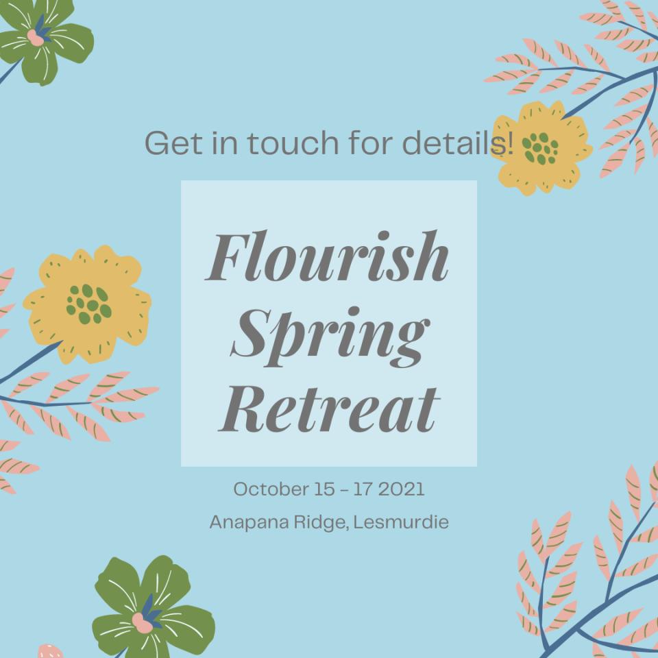 flourish spring retreat