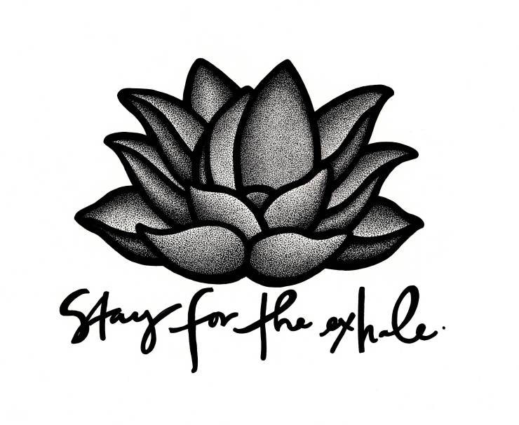 Stay for the Exhale, Samantha Ritchie, Ritchie Artwork