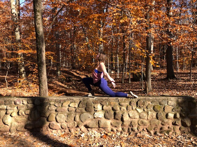 Forest bathing and yoga