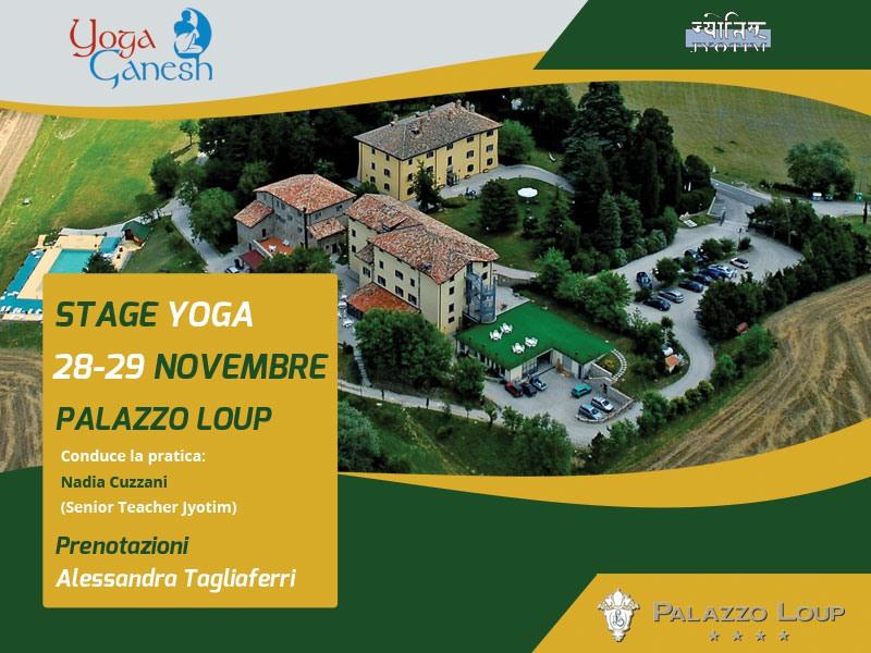 Stage Yoga Palazzo Loup
